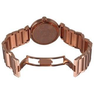 Stuhrling Original Womens Soiree Elite Rose Gold Diamond Watch
