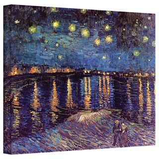 VanGogh Starry Night Under the Rhone Canvas
