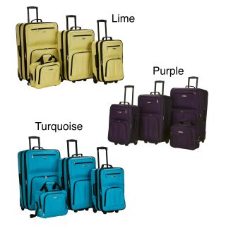 Colors 4 piece Expandable Luggage Set Today $114.99