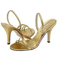 Michael Kors Calista Gold Metallic Nappa Sandals
