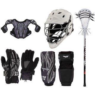 Warrior Tempo Elite Lacrosse Starter Package   Gloves
