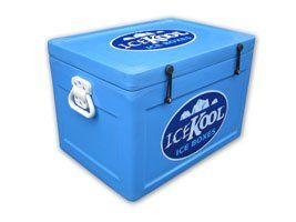 Icekool Ice Box 53 Quart Cooler Sports & Outdoors