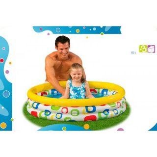 Piscine gonflable pour enfant à partir de 3 ans Dimension 114x25 cm
