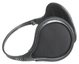 180s Mens Exolite Ti Ear Warmer, Carbon Fiber Clothing