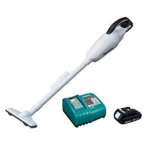 Makita BCL180W 18 Volt Compact Lithium Ion Cordless Vacuum Kit