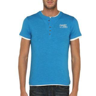 TRAXX T Shirt Homme Bleu et beige Bleu et beige   Achat / Vente T