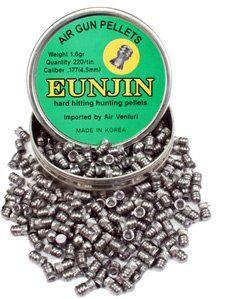 Eun Jin .177 Cal, 16.1 Grains, Round Nose, 220ct Sports