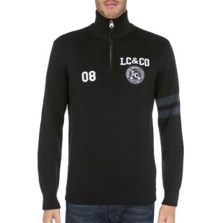 LEE COOPER Pull Homme Noir   Achat / Vente PULL LEE COOPER Pull Homme