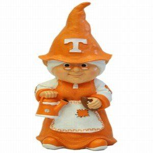 Tennessee Volunteers Female Garden Gnome Sports