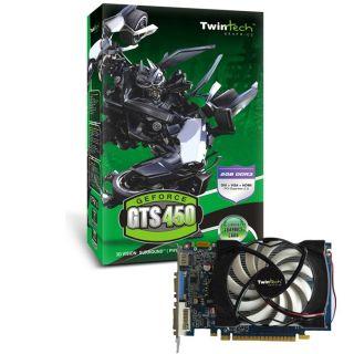 GTS 450 2Go DDR3 HDMI   Achat / Vente CARTE GRAPHIQUE Twintech GTS 450