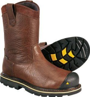 Mens Keen Dallas Wellington Steel Toe Boots Shoes