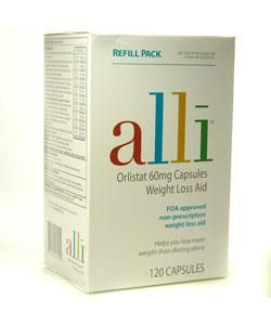 Alli Orlistant Weight Loss Aid (120 Capsules)