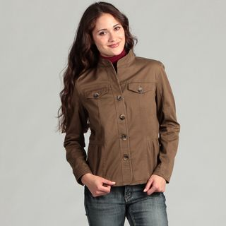 Live a Little Womens Side Tab Jacket