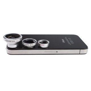 (180 Degree Fish Eye Lens + Wide Angle + Micro Lens)