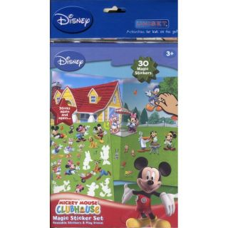 MICKEY MOUSE CLUBHOUSE ; MAGIC STICKER SET   Achat / Vente livre