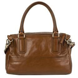Givenchy Medium Pandora Brown Leather Messenger Bag