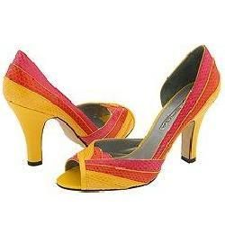 Via Spiga Passion Orange/Pink/Yellow Snake