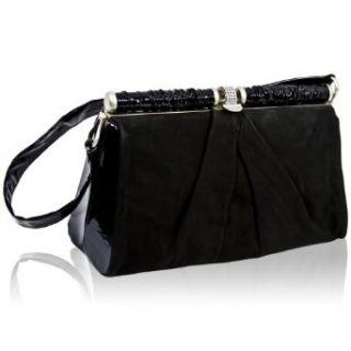 Renato Angi Italian Designer Black Nubuck Leather