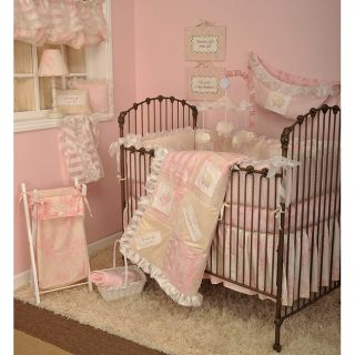 Cotton Tale Heaven Sent Girl 8 piece Crib Bedding Set Today $179.99 5