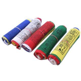 Exra Large ibean Prayer flags ~ 3 ROLL SE ~ LUNGA