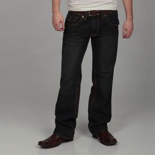 Hollywood Mens Vintage Bootcut Jeans