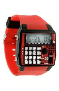 Flud Watches The BPM Watch in Red & Black,Watches for
