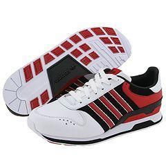 adidas Originals ZXZ 123 Leather White/Solid Red/Black