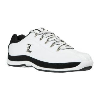 Lugz Mens Reverb White/ Black Sneakers