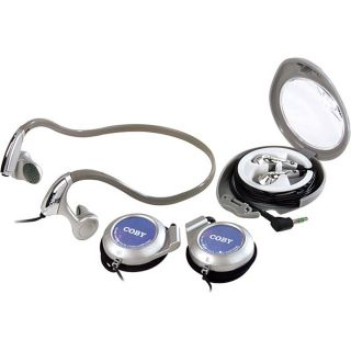 Coby Coby CV123 Headphones Combo Pack