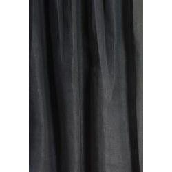 Signature Black Licorice Linen 120 inch Curtain Panel