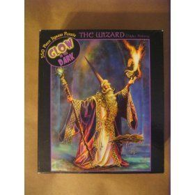 The Wizard Glow in the Dark 550 Piece Jigsaw Puzzle Toys