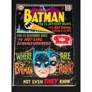 Batman #184 Silver Age 1966 DC Comic Book
