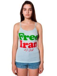 American Apparel Free Iran Sheer Jersey Spaghetti Tank