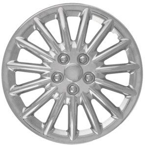 CCI IWC188 13C 13 Inch Clip On Chrome Finish Hubcaps   Pack of 4
