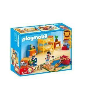 Playmobil   4287   Chambre des enfants   Lucy et Jake ont des lits
