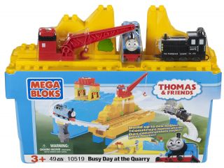 Mega Bloks Thomas and Friends Busy Day at the Quarry Play Set