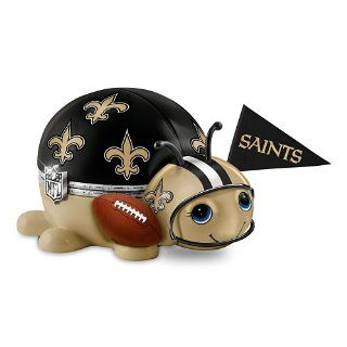 NFL New Orleans Saints Bug Music Box #1 Fan by The