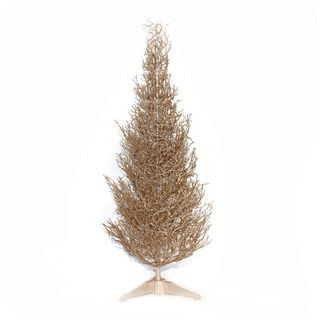 Good Tidings Champagne 36 inch Mini Tabletop Seasonal Tree