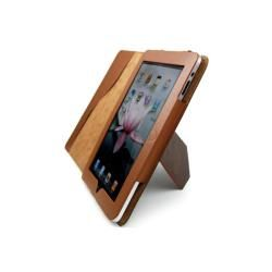 Premium Genuine Leather Apple iPad Stand Case