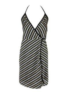Karina Grimaldi Womens Florence Halter Dress: Clothing