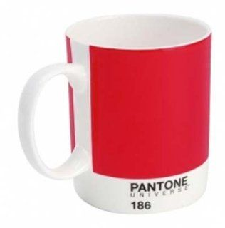 Pantone Universe Mug Ketchup Red 186c: Arts, Crafts