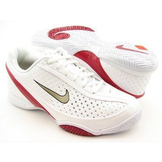 NIKE AIR ZOOM MYSTIFY III W 9 (WHITE/MET TWEED/DARK RED/BLK) Shoes