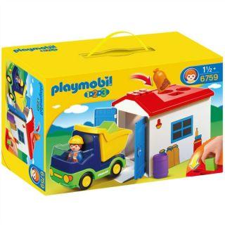 Playmobil Camion Avec Garage   Achat / Vente UNIVERS MINIATURE COMPLET