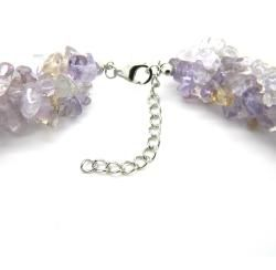 Pearlz Ocean Sterling Silver Ametrine Chips Necklace
