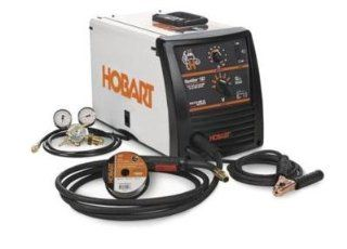 HOBART HANDLER 187 MIG WELDER (GAS/NO GAS) 230VAC W/HOSE & REG