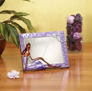 Deco Breeze Small Lady Metal Table Mirror