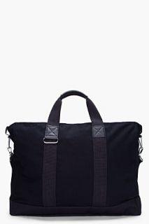 KRISVANASSCHE Black Messenger Bag for men