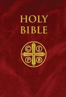New American Bible Revised Edition   NABRE Burgundy Hardcover Saint