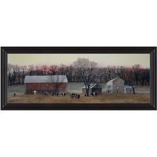 Peter Sculthorpe In from the Fields Framed Print Art