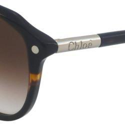 Chloe Womens CL2253 Rectangular Sunglasses